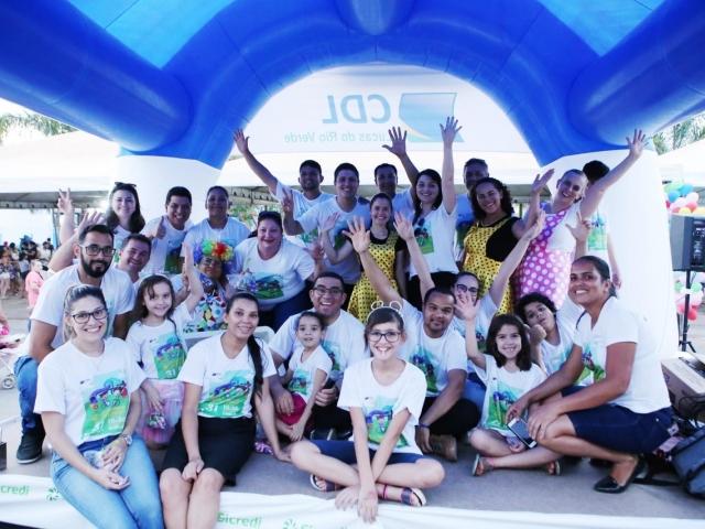 Recorde de público marcou presença durante a realização da 4ª Edição do Piquenique Inclusivo, idealizado e realizado pela Câmara de Dirigente Lojista (CDL) de Lucas do Rio Verde-MT. - CDL Lucas