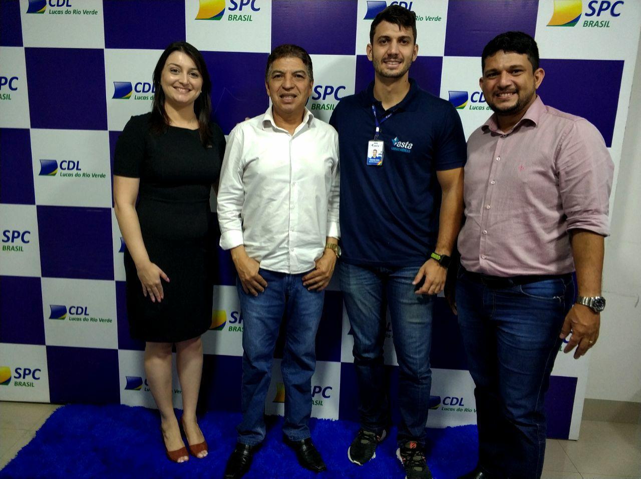 CDL e ASTA Linhas Aéreas firmam parceria em benefício dos empresários de Lucas do Rio Verde